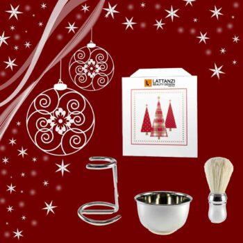 Un regalo di Natale uomo, per la cura della bellezza, un set unico e soprattutto utile.