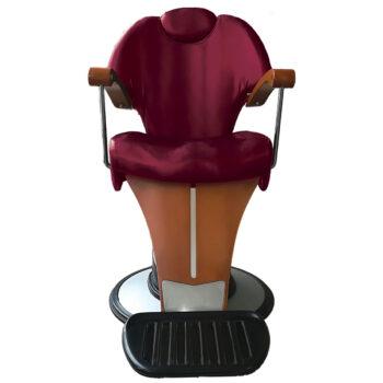 Poltrona barbiere Pietranera Mythos Poltrona uomo con struttura portante in multistrato.