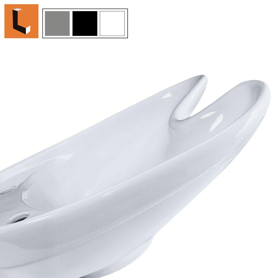Vasca di ricambio lavabo professionale per lavatesta parrucchiere e barber